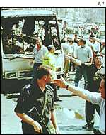 Attack on German tourist bus in Cairo in 1997