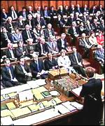 PM's question time in parliament