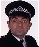 Rowan Atkinson in the Thin Blue Line