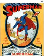 Superman first donned his tights in 1938