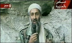 Osama Bin Laden on Al-Jazeera