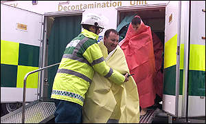 Decontamination unit