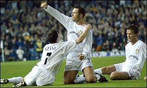 Mark Viduka opened the scoring for Leeds
