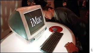 An Apple iMac