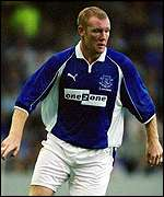 Steve Watson opened the scoring against his old club