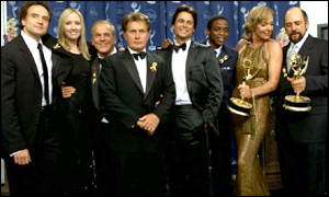The cast of West Wing