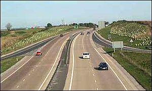 The A30 in Devon
