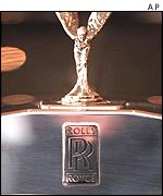 Rolls-Royce motor car Spirit of Ecstasy statue