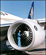 Rolls-Royce Trent 800 engine