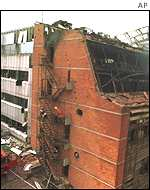 The Novi Sad television station was bombed in 1999