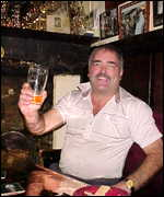 Brian Bird: Toasting pub's success