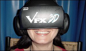 Tracey Logan enjoys VR meditation