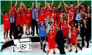 Bayern Munich win the Champions League
