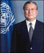 Kim Hak-Su, Executive Secretary of UN's Economic and Social Commission for Asia and the Pacific