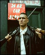 Vinnie Jones in Lock, Stock and Two Smoking Barrels