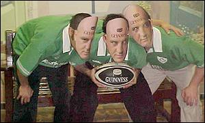 Irish rugby supporters