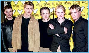 The day job: Bryan and Westlife