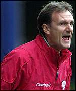 Liverpool's stand-in manager Phil Thompson