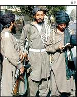 Taleban security officials