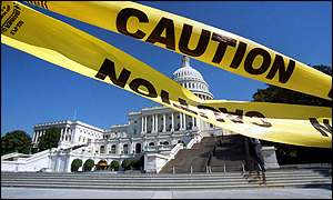 Capitol cordoned off