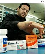 A pharmacist in Mexico