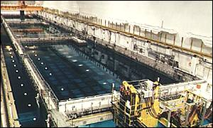 Sellafield nuclear waste disposal plant