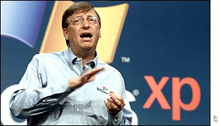 Bill Gates launches XP, AP
