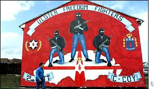 Loyalist Murals In Lower Newtownards Road Area Of Protestant East ...