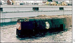 """...какие именно ошибки экипажа подлодки  """"Курск """", затонувшей в августе 2000 года..."""