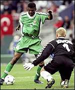 Nigeria against Denmark