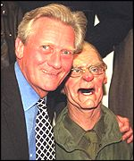 Michael Heseltine with his Spitting Image puppet