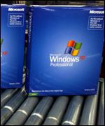 Windows XP production line