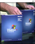Windows XP packaging line, AP