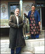 Uzbek man and woman