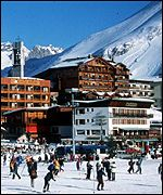 Tignes in France