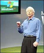 Microsoft vice president of platforms groups Jim Allchin