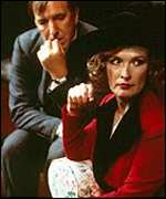 Alan Rickman and Lindsay Duncan