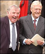 Jimmy Tarbuck and Michael Parkinson paid tribute