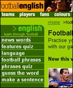 Football English, http://www.footballculture.net/footballenglish/