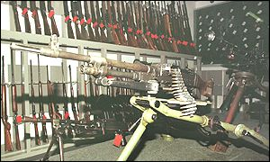 IRA weapons recovered by security forces