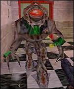 One of the enemy entities from computer game Half-Life, Half-Life TV