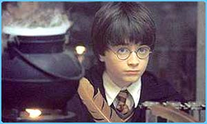 Daniel Radcliffe star of the Harry Potter film