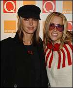 Natalie and Nicole Appleton