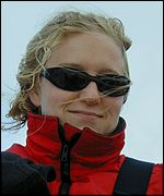 Emily Little, a participant the BT Global Challenge sail race