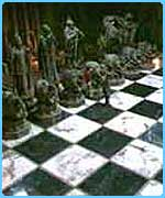 The chess scene from the film