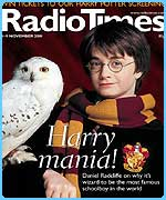 Harry on the front cover of the Radio Times