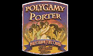 Beer label for Polygamy Porter