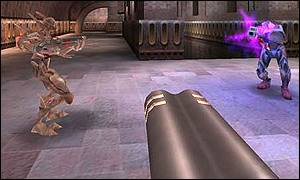 Screnshot of Quake III Arena