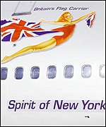Virgin Atlantic's Spirit of New York
