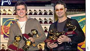 Juanes and Alejandro Sanz